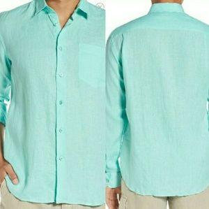 Vilebrequin Other - Vilebrequin Regular Fit Linen Shirt Size L