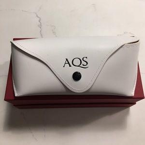 AQS Accessories - Authentic AQS White Sunglass Case