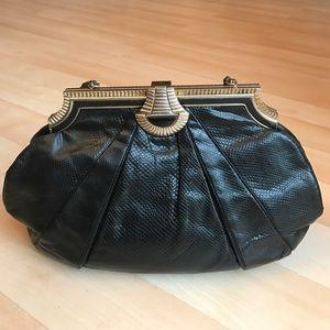 Judith Leiber Handbags - Vintage Judith Leiber  python leather purse