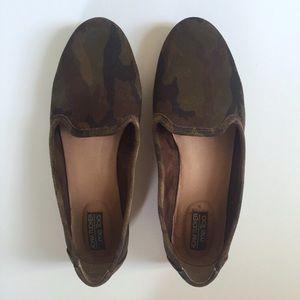 Adam Tucker Shoes - Camo Suede Loafers