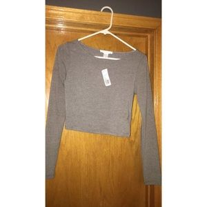Tops - Crop Top- long sleeve
