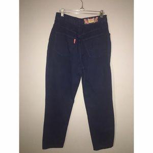 monique Jeans - Vintage High waist Jeans w/metal accents Sz 9/10