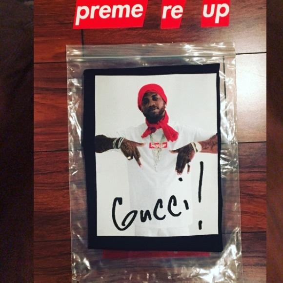 60b5c3cdf Supreme Shirts | Fw16 Gucci Mane Photo Tee | Poshmark