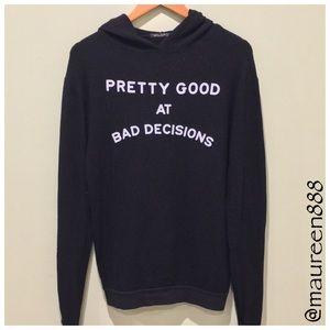 Wildfox®    Bad Decisions    Gypsy Hoodie [black]