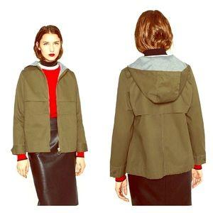Zara Jackets & Blazers - Short Hooded Jacket