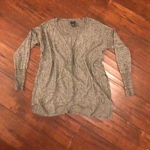 Grey light weight  sweater