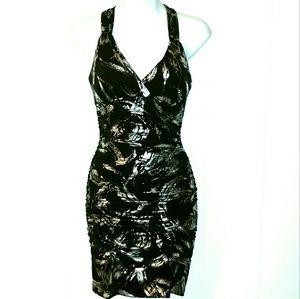 Taboo Dresses & Skirts - {NWT Metallic Mini Club Dress}