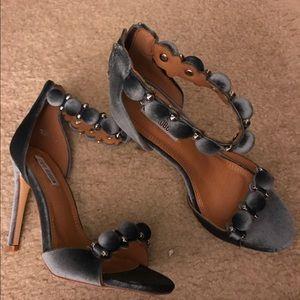 Alaia Shoes - Cape Robbin collection Pom Pom sandal
