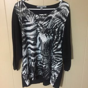 Andrew Marc Tops - LIKE NEW ANIMAL PRINT TOP