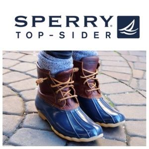 Sperry Top-Sider Shoes - GREAT SHAPE!  Sperry TopSider leather duck boots