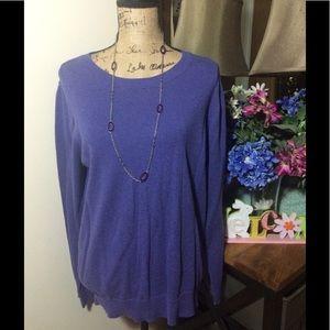 LOFT Sweaters - Ann Taylor Loft Purple Sweater NWOT