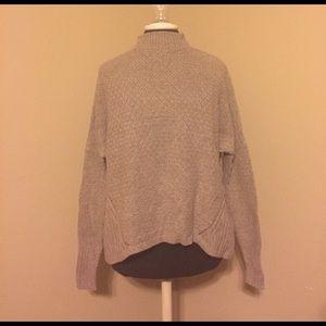 LOFT Brown Turtleneck Sweater