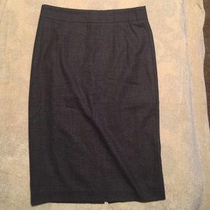 Banana Republic pencil skirt with back slit