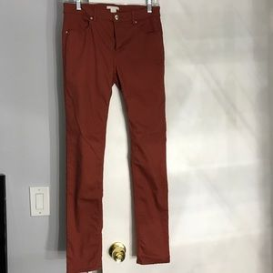 Burnt Orange Pants- H&M
