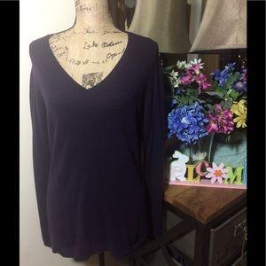 Ann Taylor Sweaters - 🔴 Sale Ann Taylor Cashmere Purple Sweater