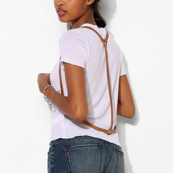 1c4bda7ae Jakimac Simple Drape Harness. Brown Brass NWT