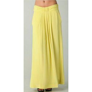 Twenty8Twelve Dresses & Skirts - Twenty8twelve Lime Verena Long Skirt