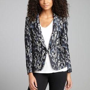 rag & bone Jackets & Blazers - Rag & Bone Brocade Ikat Print Blazer