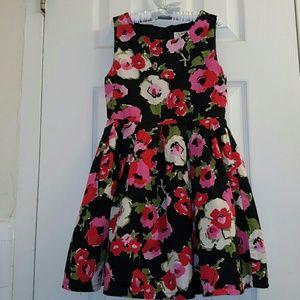 Children's Place Other - Black Floral Dress