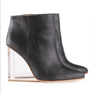 Maison Martin Margiela Shoes - Maison Martin Margiela Clear Heel Bootie
