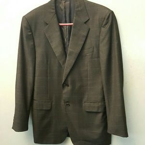 Canali Other - MENS- Canali dark grey checked blazer