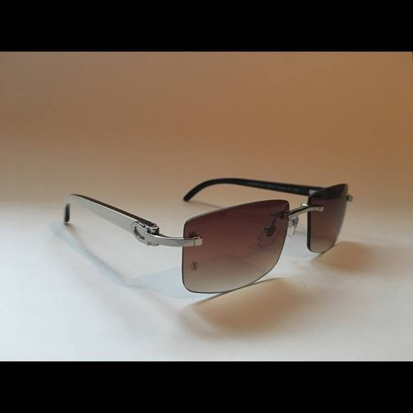 20d0a28b62d Cartier Other - Cartier white buffalo horn sunglasses