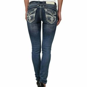 Rock Revival Denim - Rock Revival Jen Skinny