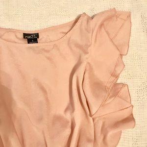 Rue21 Dresses & Skirts - 🎀Blush Mini Dress size L-Rue 21🎀