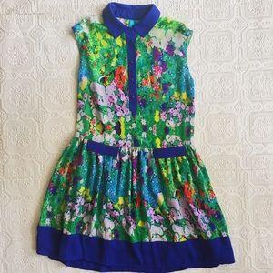 Nanette Lepore Dresses & Skirts - Nanette Lepore Floral Shirt Dress
