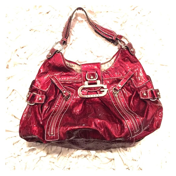 f2ceded0f3 Guess Handbags - Guess Purse Cherry Red ~
