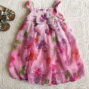 Youngland Other - Youngland Chiffon Floral Dress