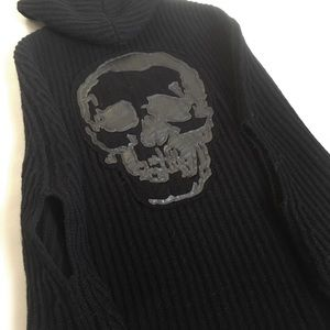 Zadig & Voltaire Sweaters - Zadig & Voltaire Black Skull Cashmere Sweater OS