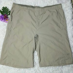 The North Face Other - The North Face Tan Nylon Shorts Men's Large