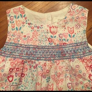 Angel Dear Other - Angel Dear floral baby dress and matching bloomers