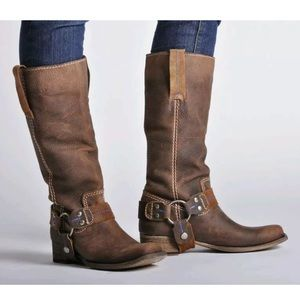 Bed Stu Shoes - Bed Stu Opal tan Greenland Harness Boot