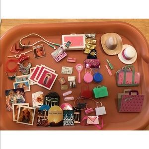 Barbie Other - HUGE LOT VINTAGE BARBIE ACCESSORIES HAT Purses