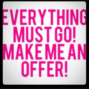 Accessories - Everything must go!!!!