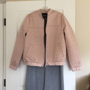 Dorothy Perkins Jackets & Blazers - Blush Bomber jacket NWT