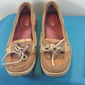 Sperry Top-Sider Shoes - SPERRY TOP SIDER tan slip on flat size 6M