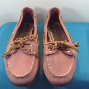 Sperry Top-Sider Shoes - SPERRY TOP SIDER PINK slip on flat size 8M