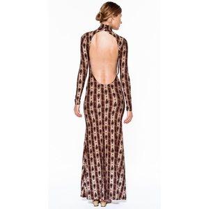 Novella Royale Dresses & Skirts - Novella Royale The Blackbird in Rust Hudson Stripe
