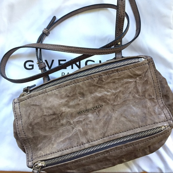 c63c12bc9b Givenchy Handbags - GIVENCHY Pandora Mini pepe leathet in Charcoal