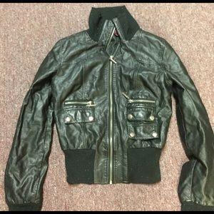 New Look Jackets & Blazers - New look black leather jacket