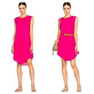 IRO Dresses & Skirts - IRO Fuchsia Drop Waist Dress