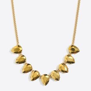 NWT J Crew Teardrop Gemstone Necklace