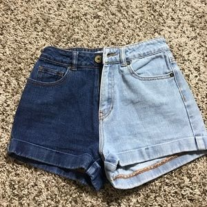 PacSun Pants - High Rise Mom shorts