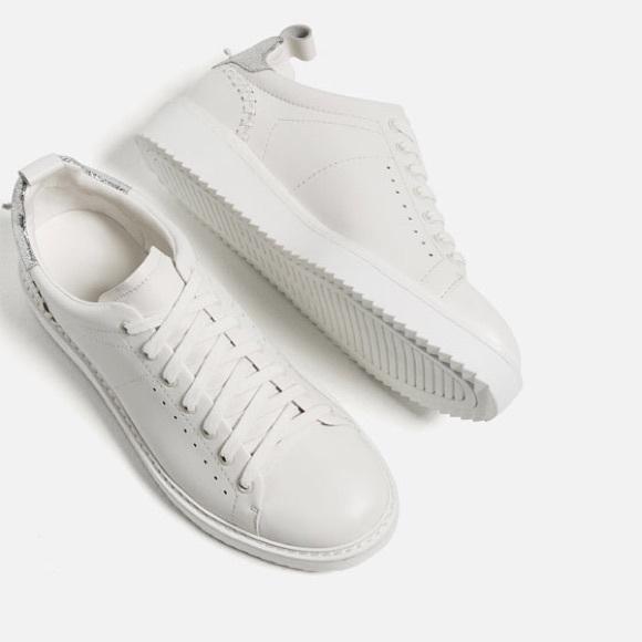 Zara Shoes | Zara Leather Detail