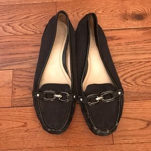 Coach Shoes - Coach black logo loafer flats