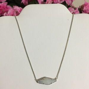 Kendra Scott Jewelry - Kendra Scott Beth Necklace Iridescent Banded Agate