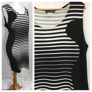 Dresses & Skirts - Curvy Striped Dress